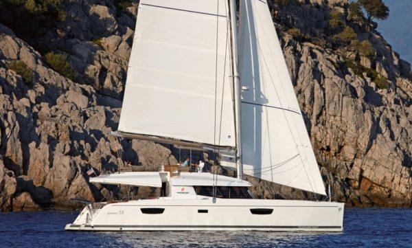 Catamaran Fountaine pajot Ipanema 58 catamaran à voiles, hyères