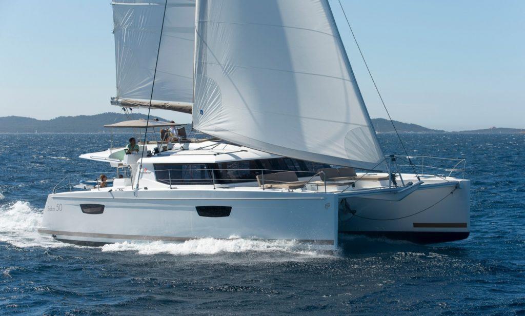Saba 50 en navigation