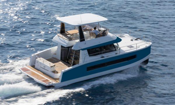 Catamaran à moteur MY 37 de Fountaine Pajot en vente à Hyères, Var Ouest