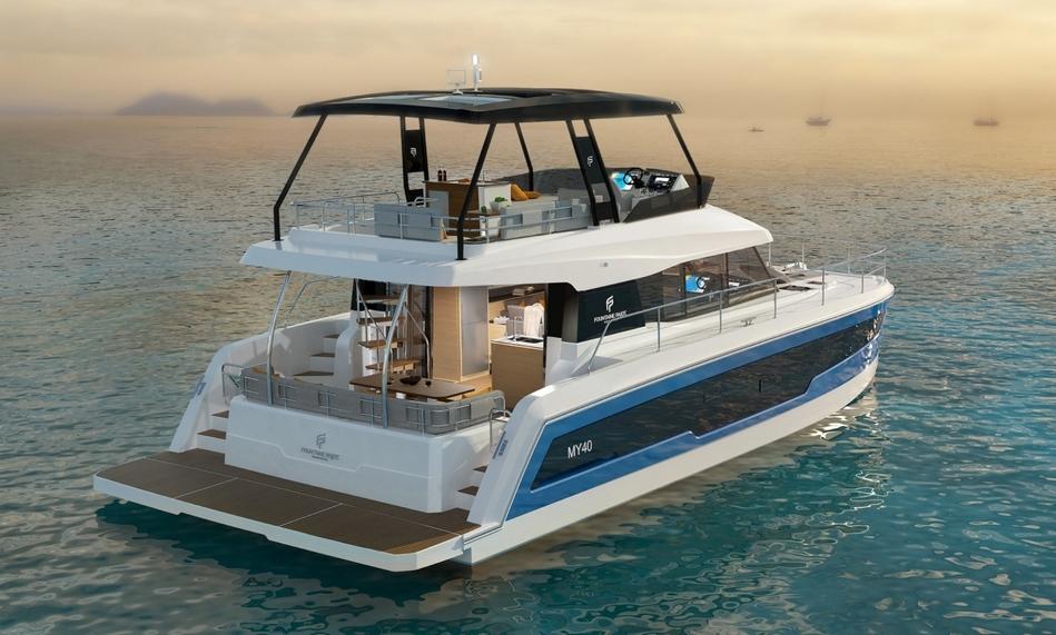 Un tout nouveau Motor Yacht, le MY 40 !