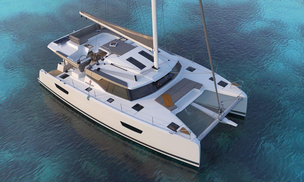 Catamaran à voile New 45 de chez Fountaine Pajot, Hyères, Var ouest