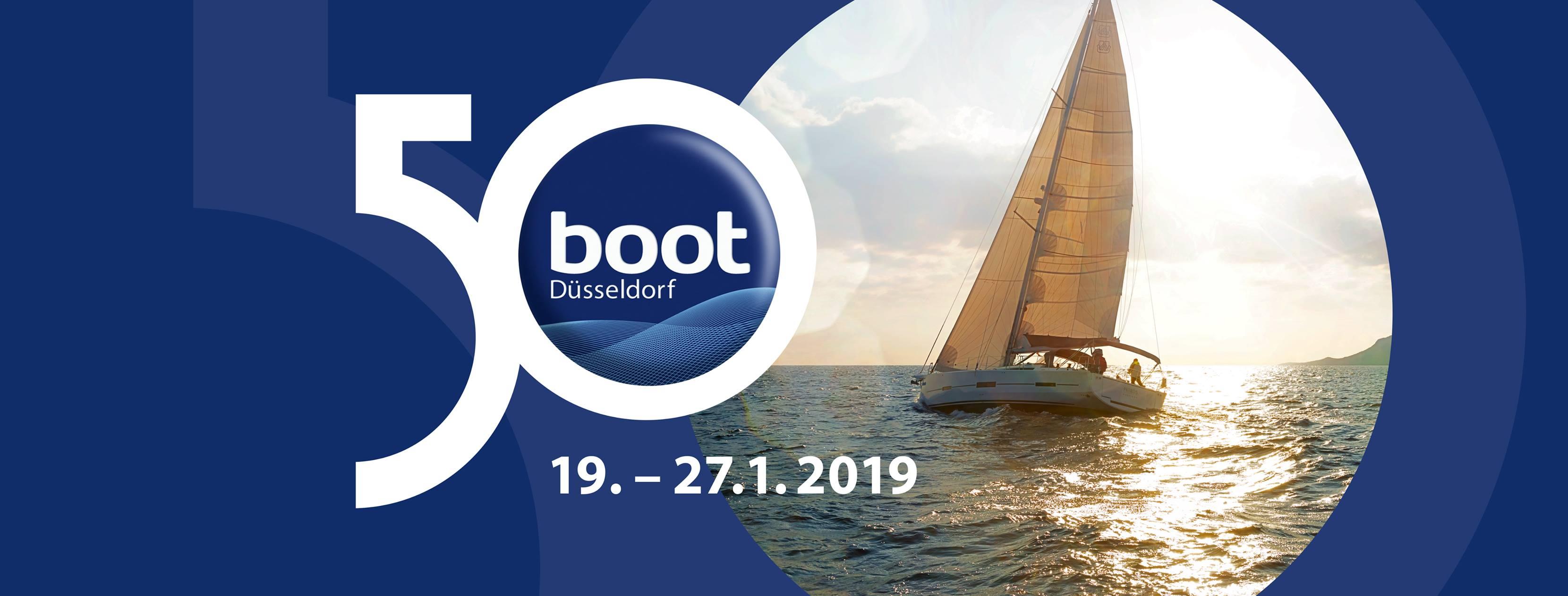 Donnons nous rendez-vous au salon nautique de Düsseldorf !