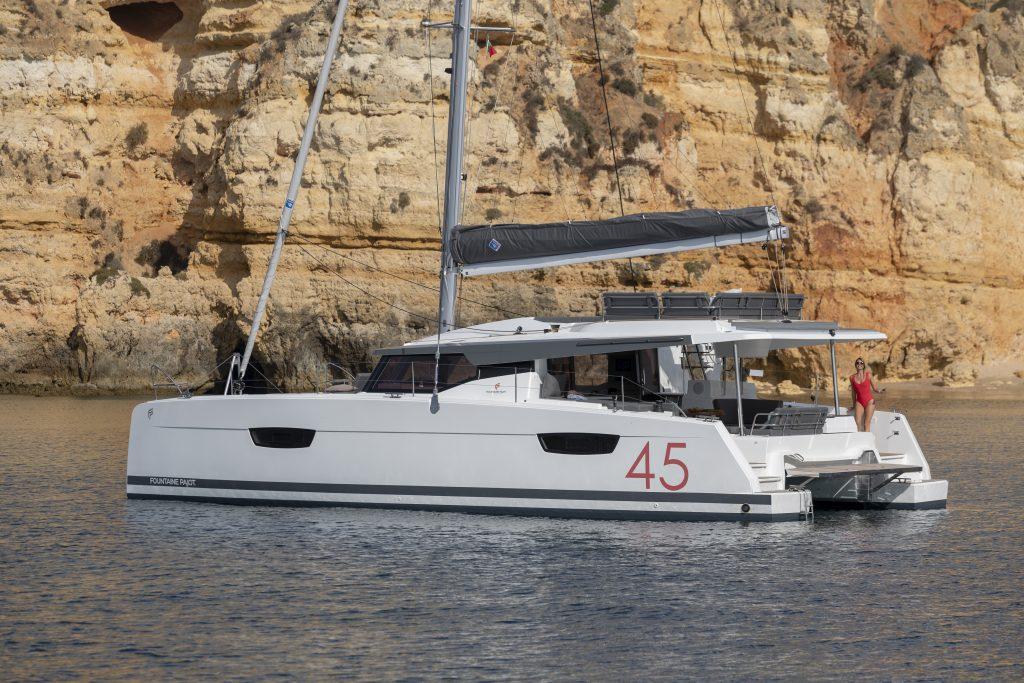 Le baptême de l'Elba 45 a eu lieu à Cannes